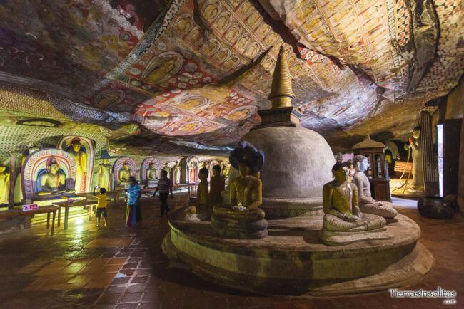 royal cave temple dambulla