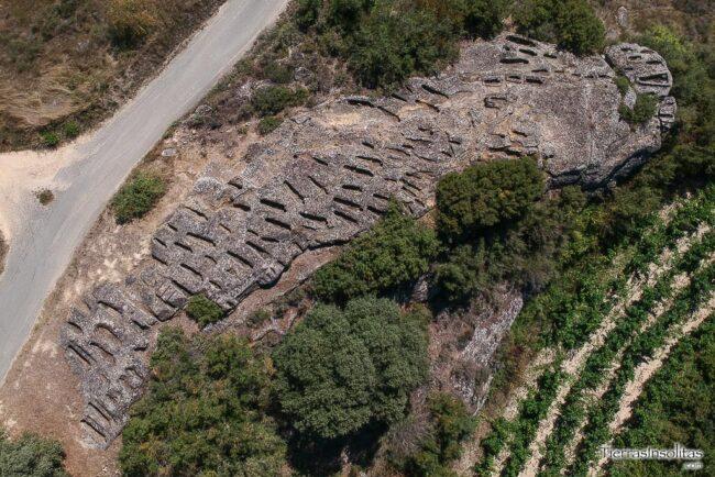 necrópolis de las sepulturas del badallo