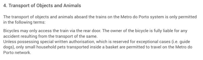 metro oporto con perro