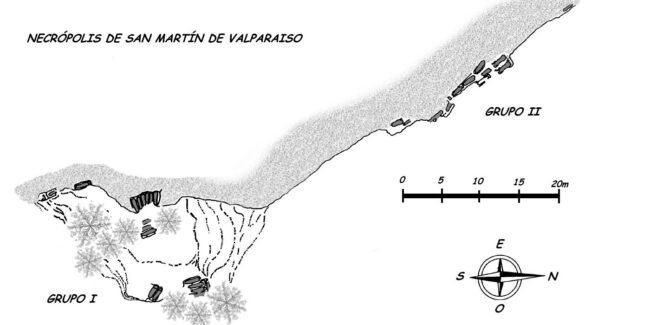 plano general necrópolis san martín de valparaiso-alava