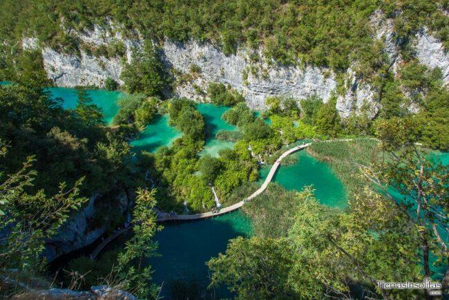 qué ver en croacia parque nacional plitvice