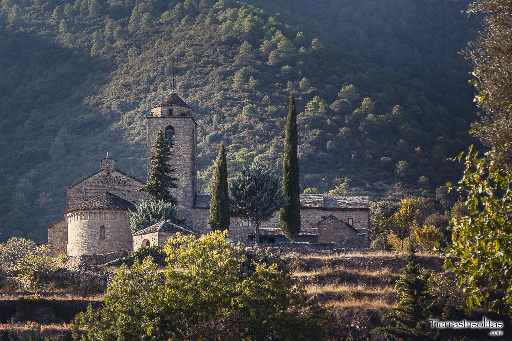 conjunto monumental de san vicente ver comarca sobrarbe