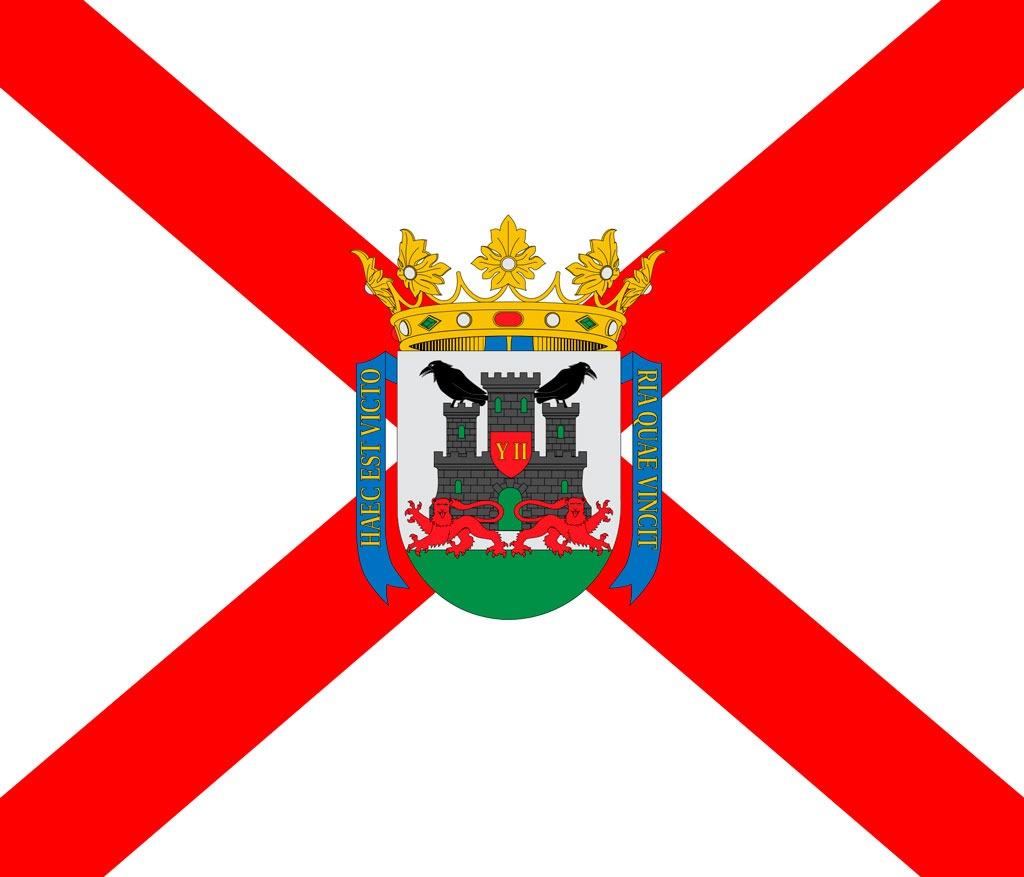 bandera escudo vitoria