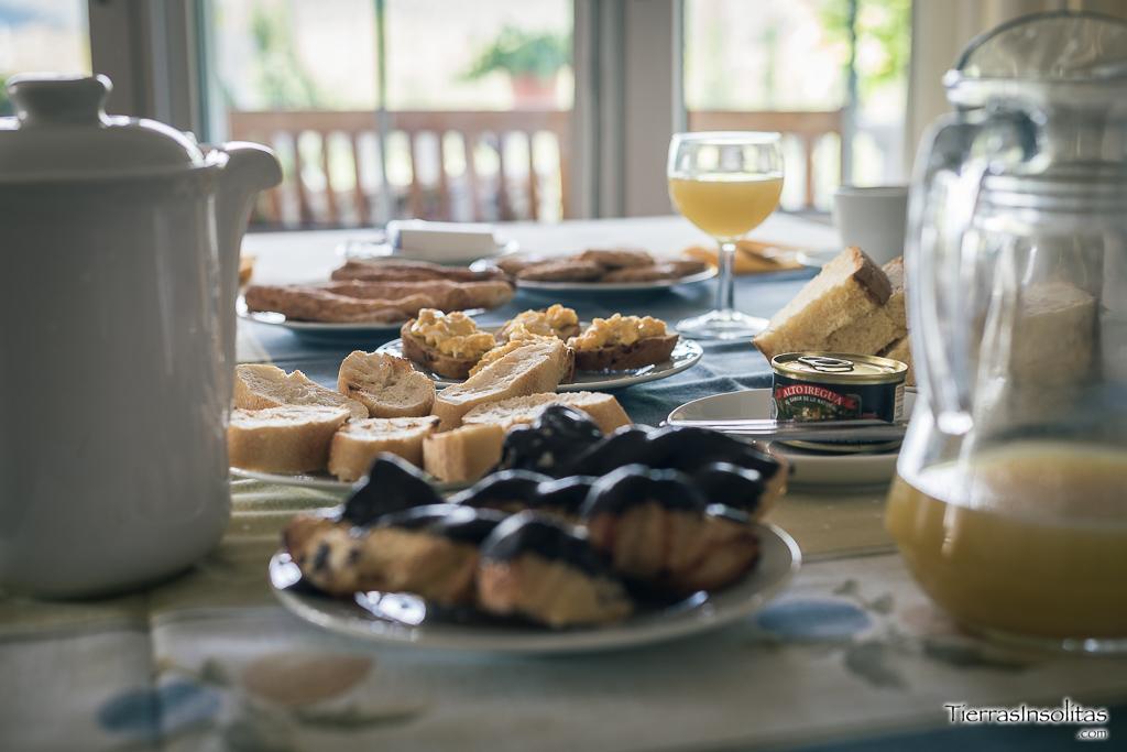 desayuno casa rural los pinos el rasillo de cameros