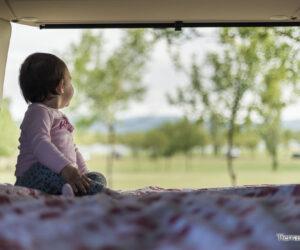 viajar en furgoneta con bebé