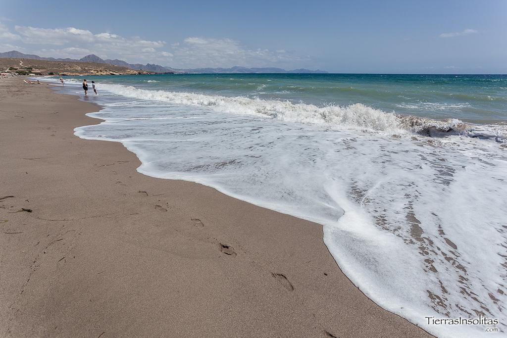 playa calnegre murcia