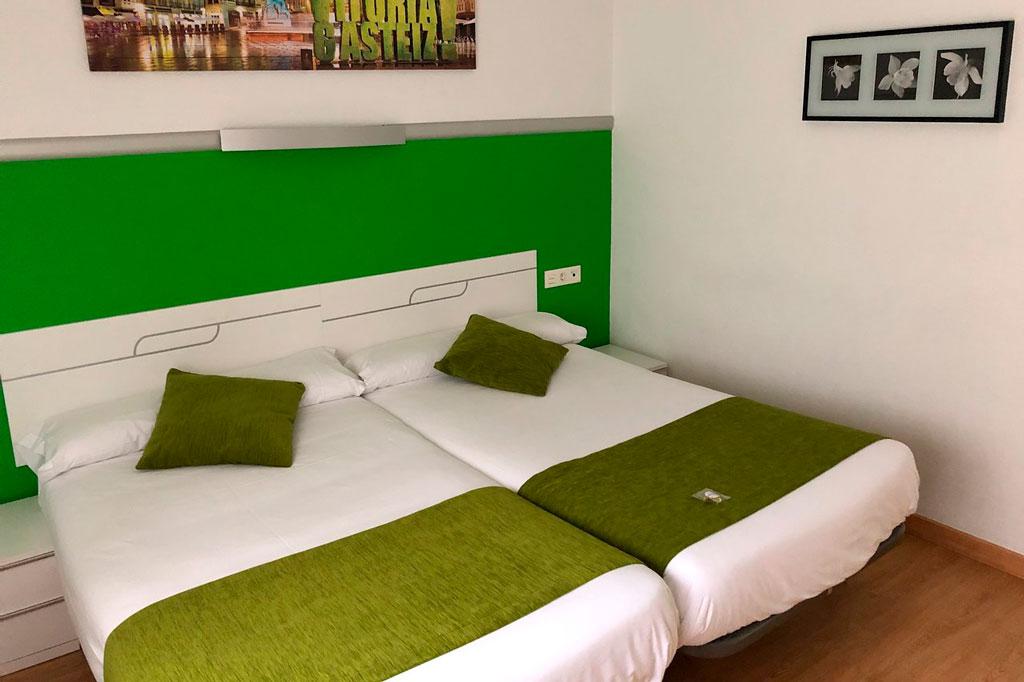 habitación Hotel centro Vitoria.