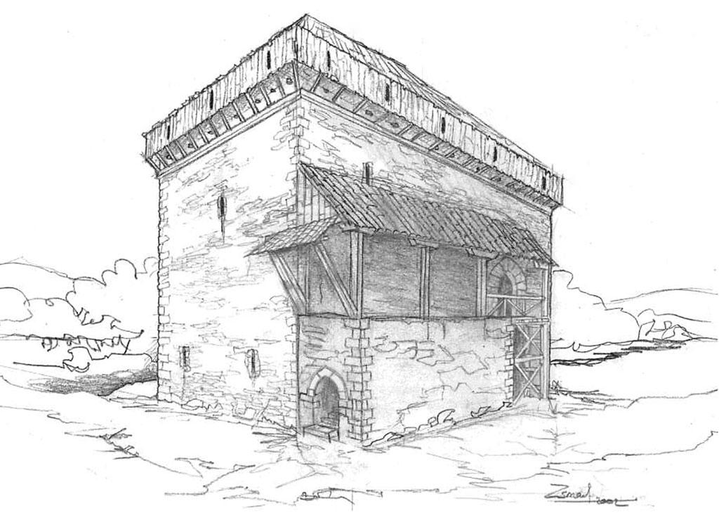 ilustración torre banderiza final lucha bandos