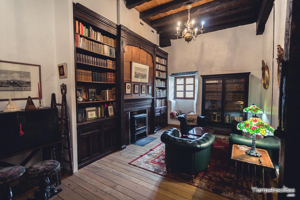 biblioteca en la torre de murga álava