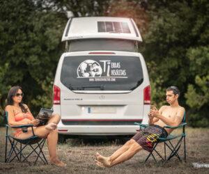 placa solar en furgoneta camper