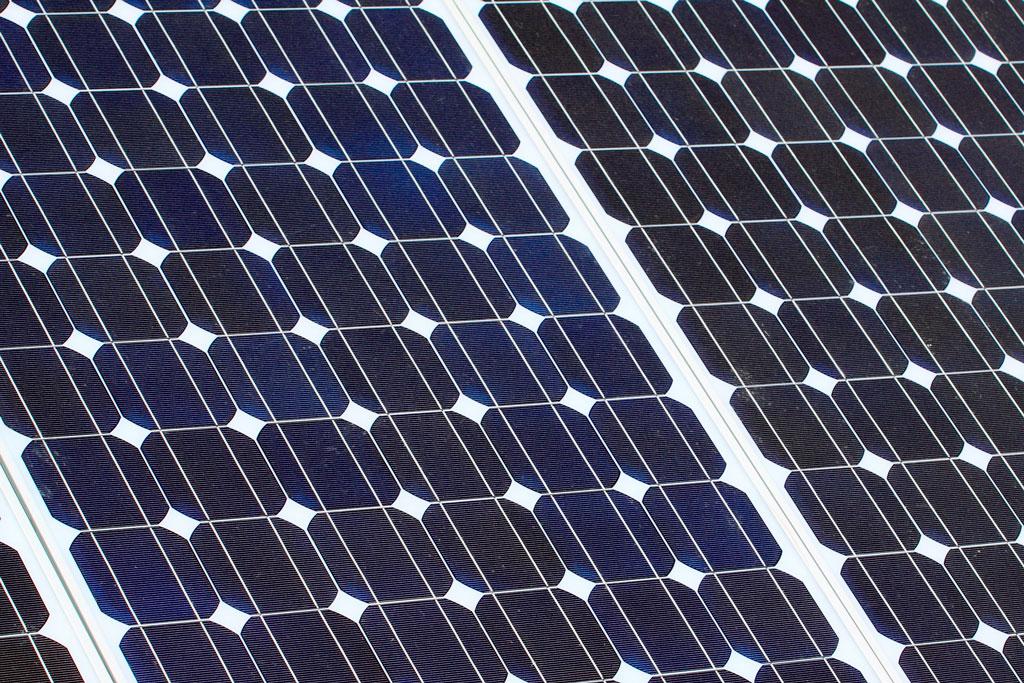 placa solar monocristalina