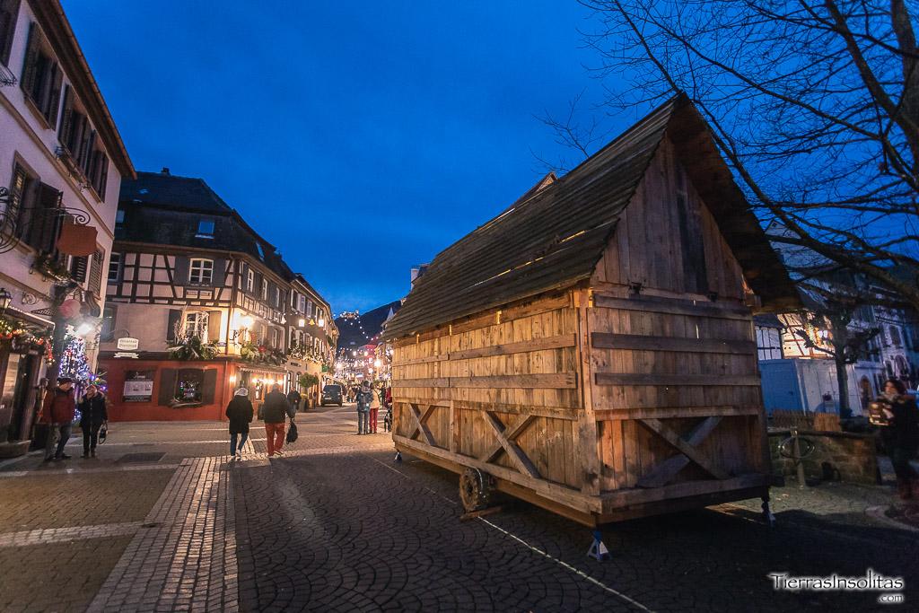 ribeauville mercado medieval navidad francia