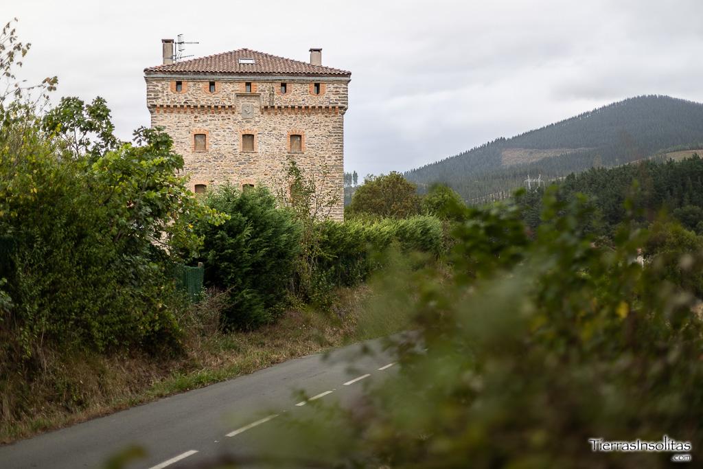 torres medievales de álava  chábarri