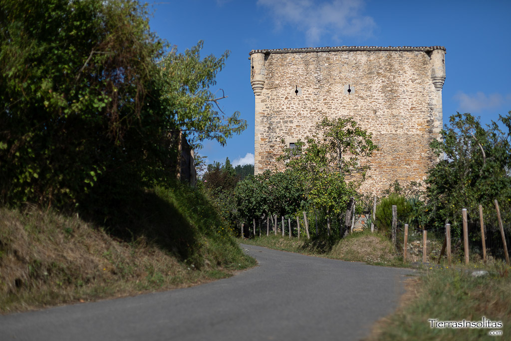 torres medievales de álava mendieta