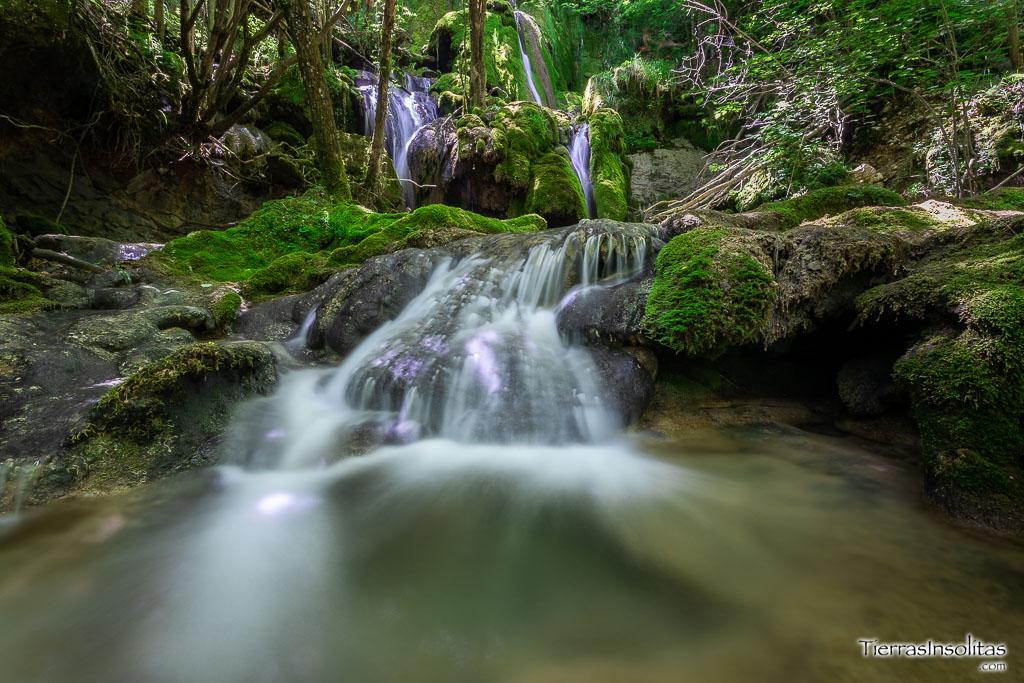 cascadas de la tobería andoin álava