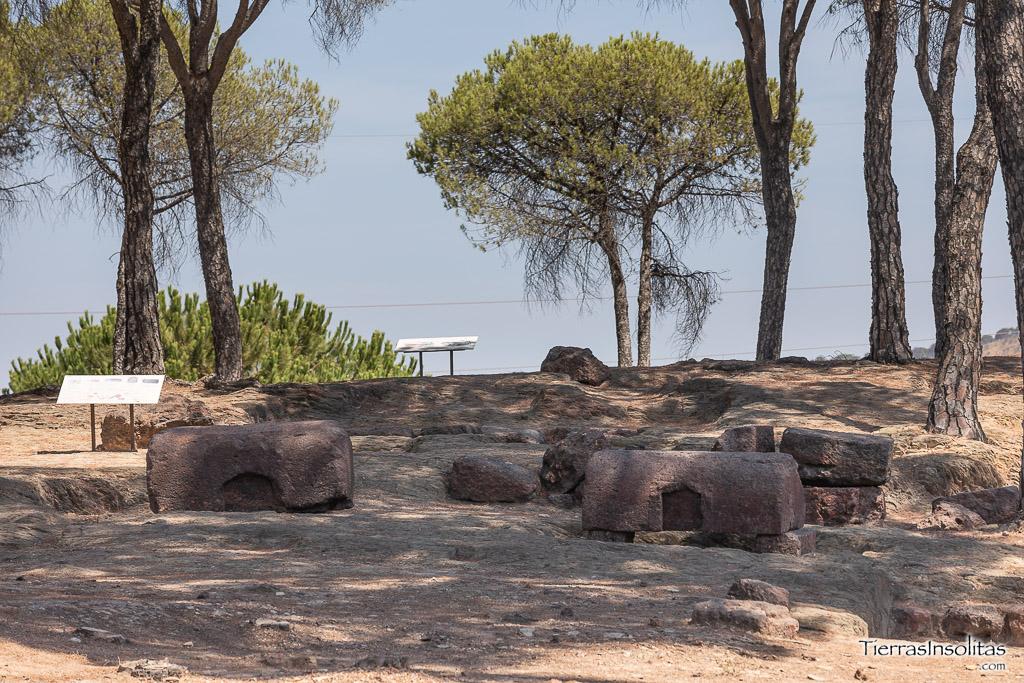 necrópolis romana de la dehesa