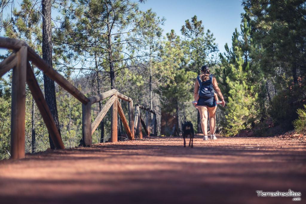 ruta monumento natural montera de gossan