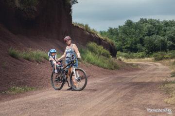 ruta bicicleta volcanes de la garrotxa con niños