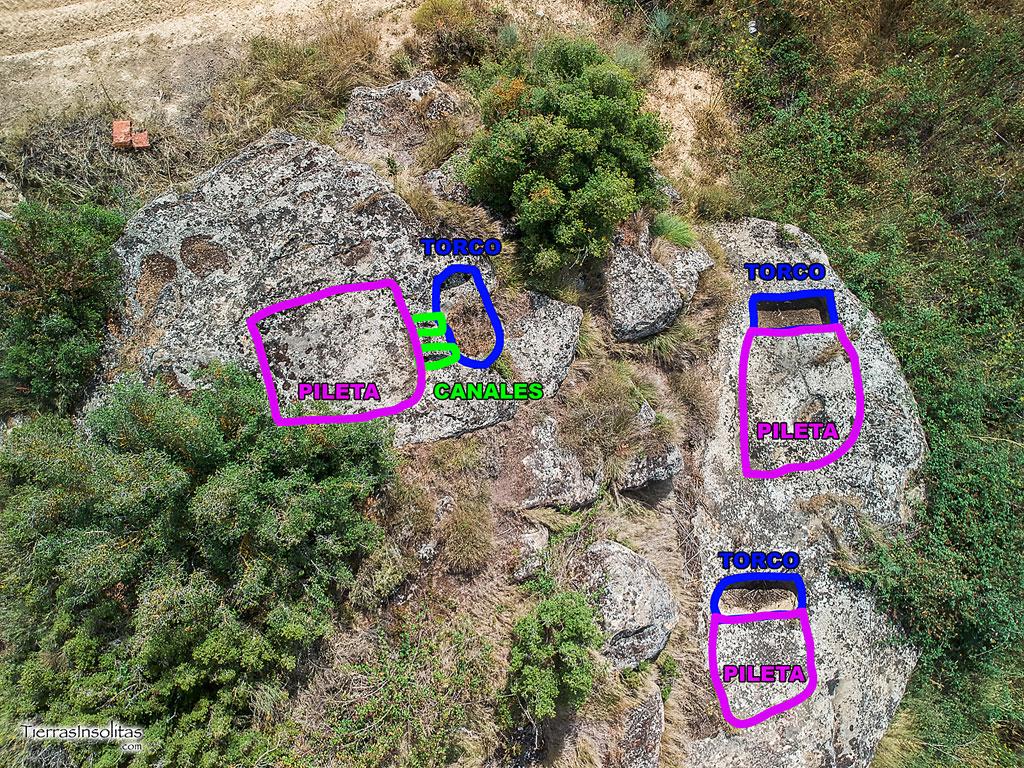 representación en los lagares 4, 5 y 6 en montebuena norte